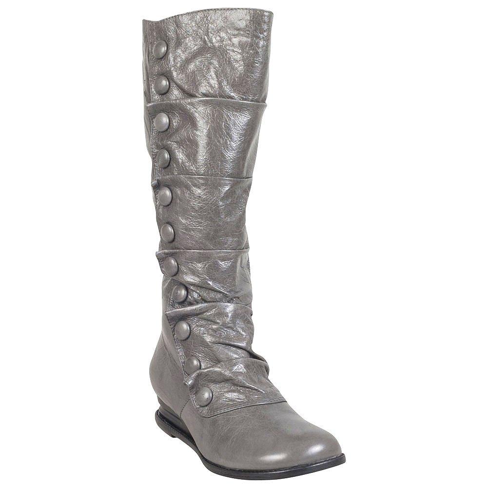 Miz Mooz Women's BLOOM Boot, STONE, 8 M US by Miz Mooz
