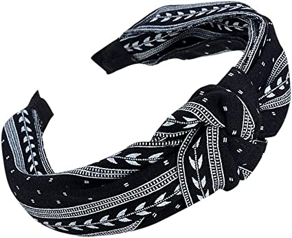 Fashion Leopard Knot Hair Band Women Hoop Simple Girl Hair Headband Accessory
