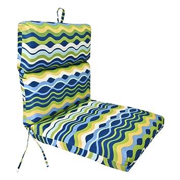 Jordan Manufacturing 22 X 44 Chair Cushion Amazon Ca Patio Lawn