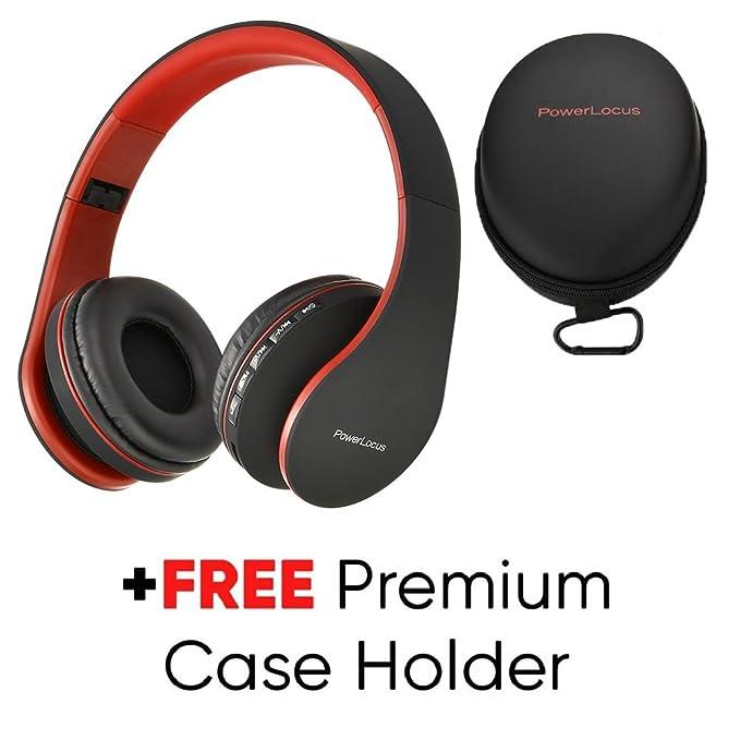 Amazon.com  PowerLocus Wireless Bluetooth Over-Ear Stereo Foldable ... 6b5326268c
