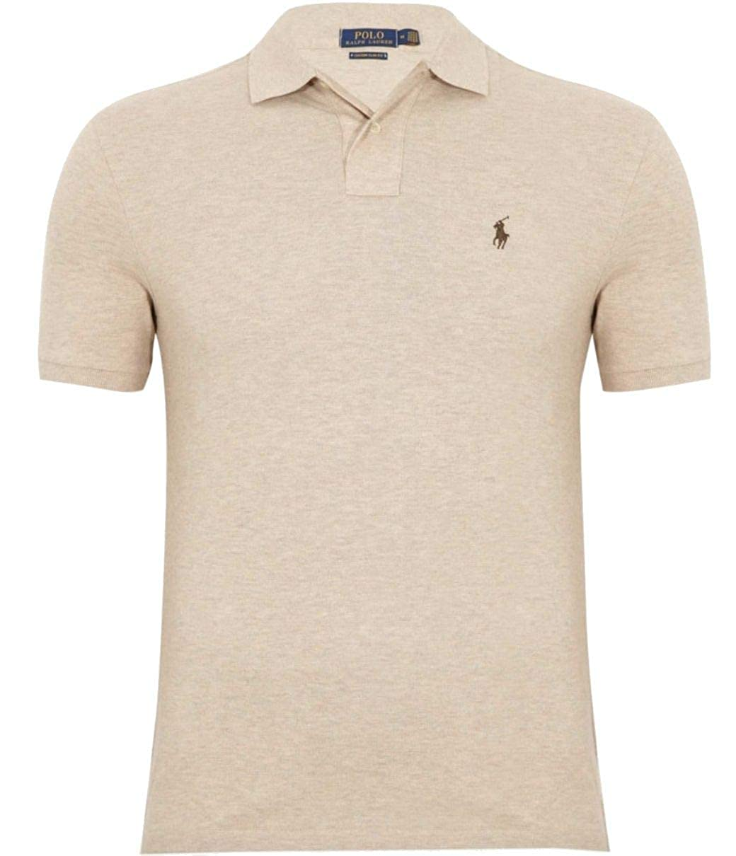 Ralph Lauren Luxury Fashion Hombre 710680784020 Beige Polo ...