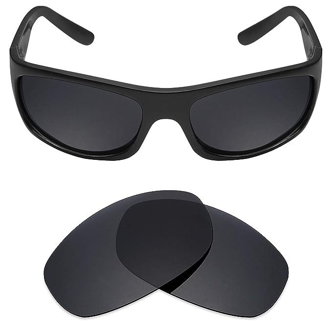 c2bd634bfc58 Mryok Polarized Replacement Lenses for Maui Jim Surf Rider MJ261 - Stealth  Black