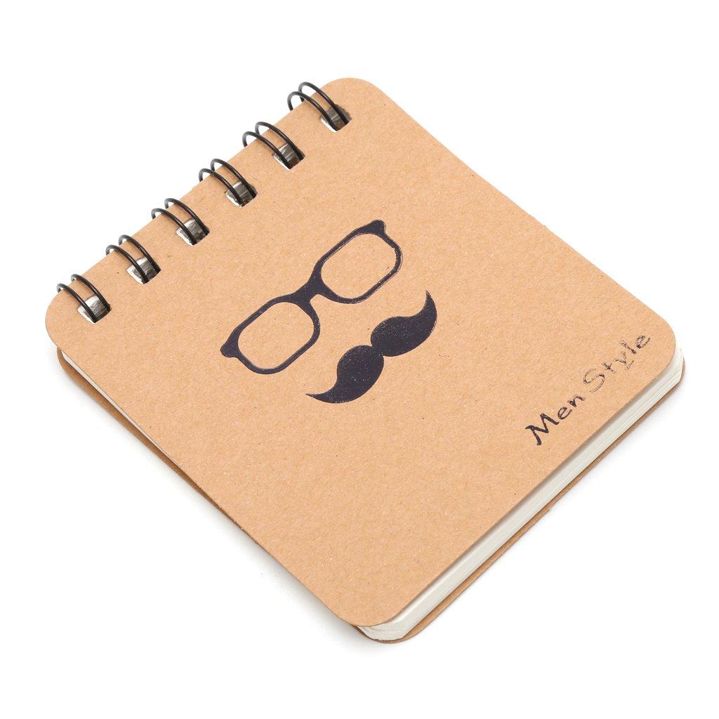 Yofo Cute Papier Spiral Coil Note Book Tagebuch Memo blanko Seite Schule Office Stationery, Fliesen Größe B07FSKNYFJ | Klein und fein
