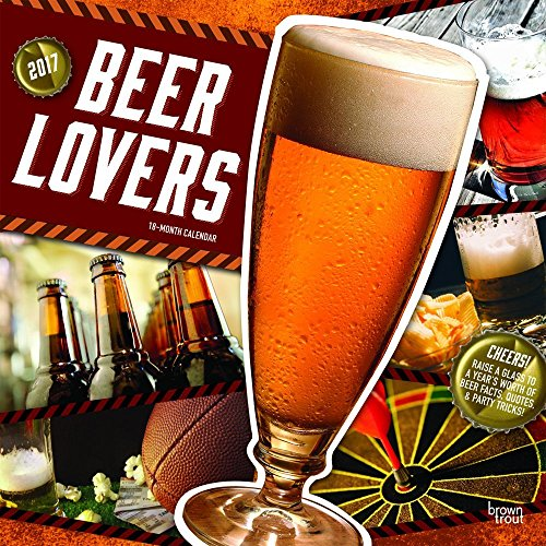 2017 Monthly Wall Calendar - Beer Lovers