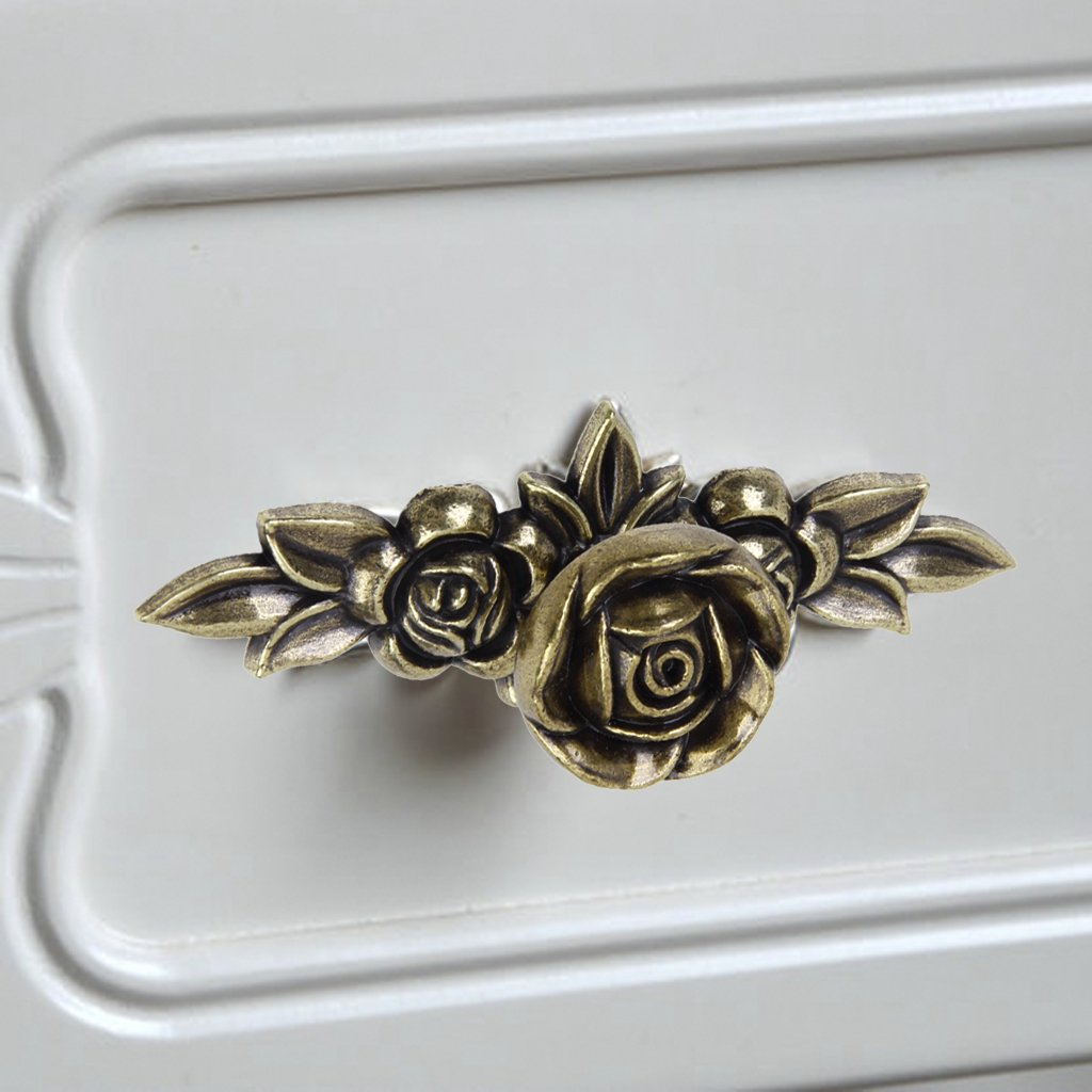 Sharplace 6pcs Set de Manija Perilla de Puerta Presi/ón Gabinete Caj/ón Gabinete de Vendimia Decoraci/ón de Mueble