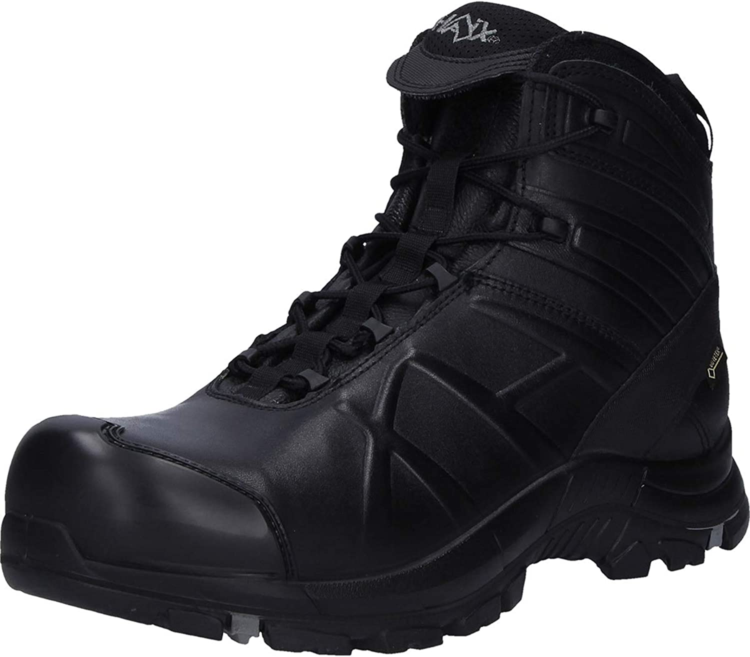 Haix Black Eagle Safety 40.1 Mid Waterproof Safety Lightweight Work Boots Silver