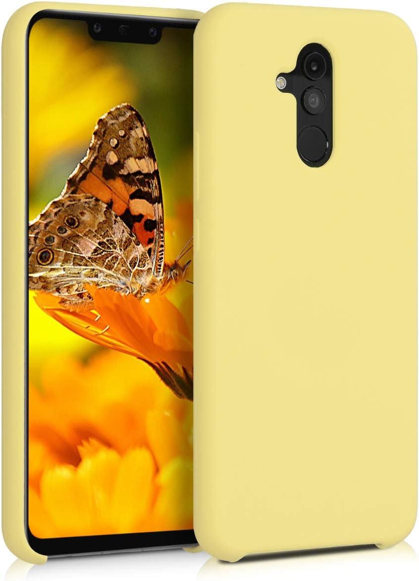 Carcasa de TPU para tel/éfono m/óvil Cover Trasero en Fucsia Mate kwmobile Funda para Huawei Mate 20 Lite