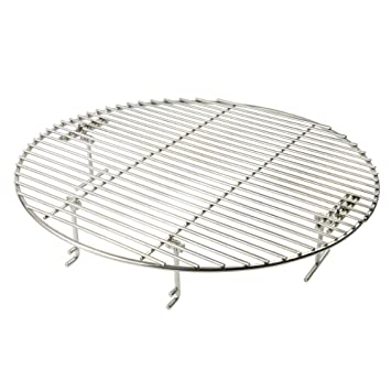 bf9525a2c62dd Onlyfire Stainless Steel Cooking Grate Grid Fits for Charcoal Kettle Grills  Like Weber,Char-