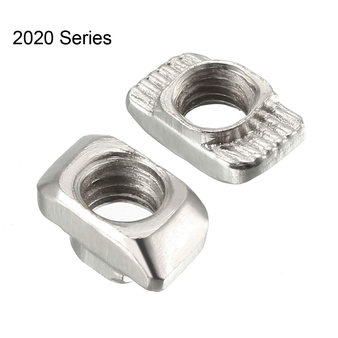 M4 Half Round Roll in T-Nut for 4040 Series Aluminum Extrusion Profile uxcell Sliding T Slot Nuts Carbon Steel Nickel-Plated Pack of 10