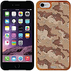 fashion case iphone 5s Madera Wood Thinshield Case with Camo Red Design