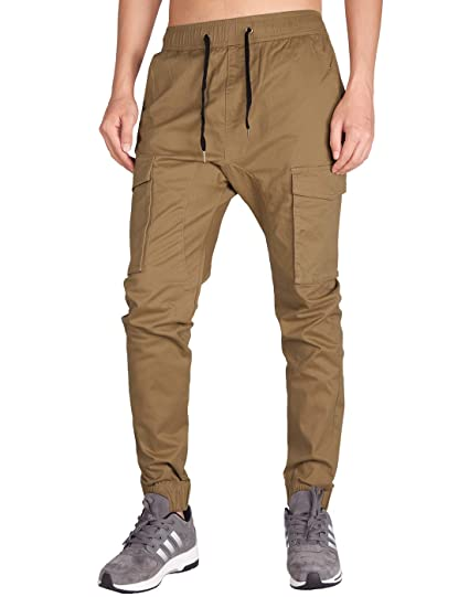 74e357bbbb ITALY MORN Men's Jogger Cargo Trousers Tactical Military Overalls