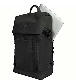Victorinox Altmont Classic Deluxe Flapover Laptop Backpack, Black One Size
