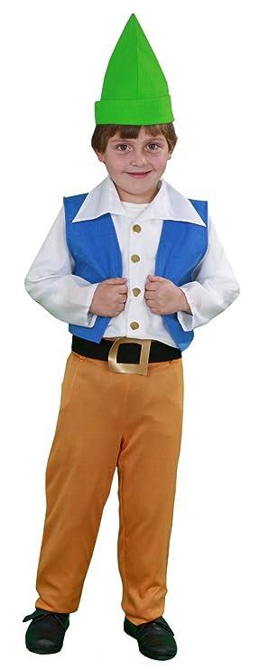 Disfraz de Enanito 3-4 años: Amazon.es: Juguetes y juegos