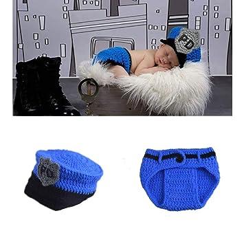 Amazon.com: LERORO - Disfraz de ganchillo para recién nacido ...