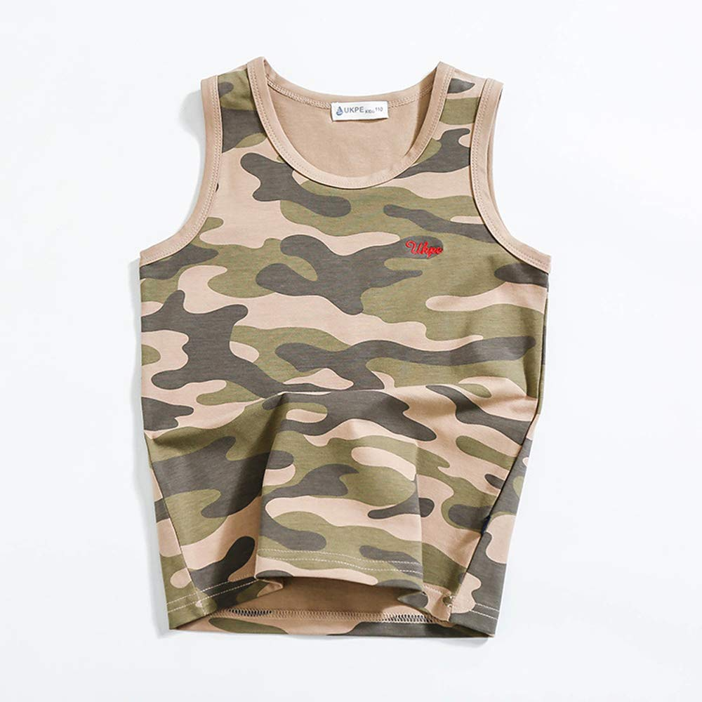 Koupa Kid Boys Clothing Camouflage Top/&Short Sets Outfit