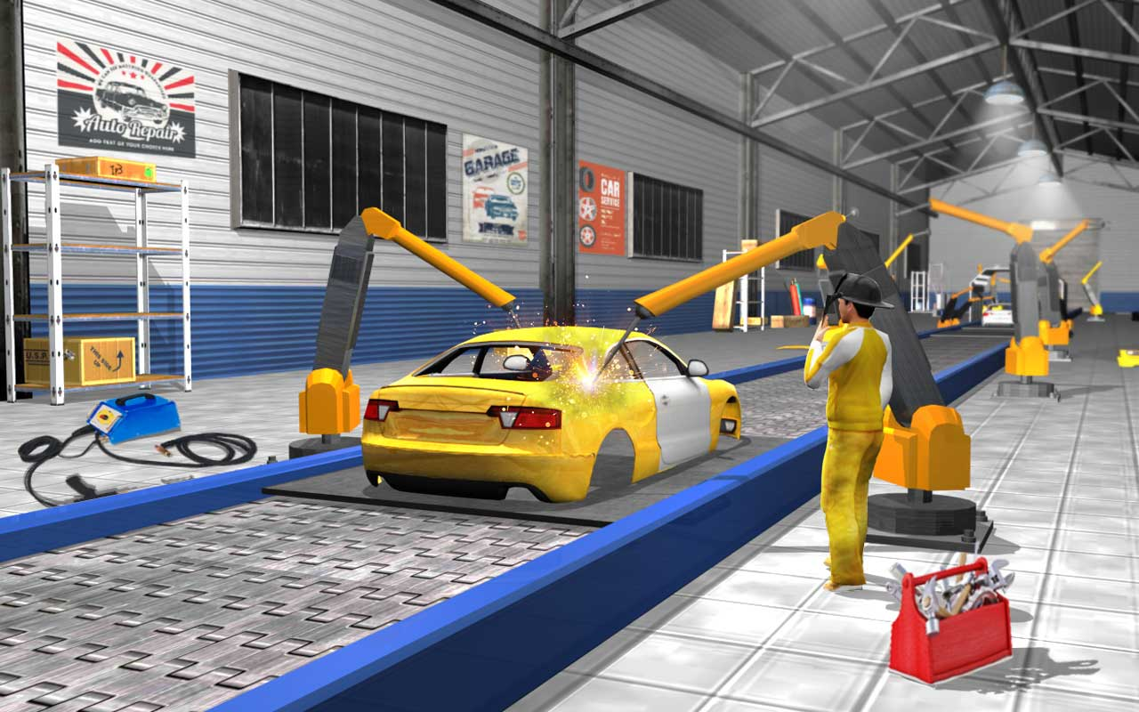 Shopus Sports Car Maker Factory 2018 Car Mechanic Simulator Amp