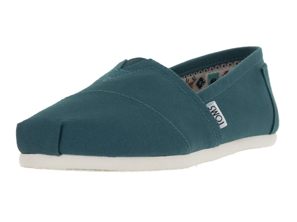 Balsam Green Canvas 6 B(M) US Black Canvas Women's Classics
