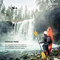 Contixo F18 Quadcopter Drone | Brushless Motors 1080p HD Live Video Built-In Camera Hobbyist Photographers GPS Flying RC Drone FPV WiFi RTH +Free Carrying Backpack (50 Value) from Contixo Inc.