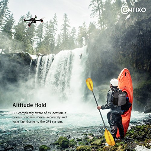 Contixo-F18-Quadcopter-Drone-Brushless-Motors-1080p-HD-Live-Video-Built-in-Camera-Hobbyist-Photographers-GPS-Flying-RC-Drone-FPV-WiFi-RTH-Free-Carrying-Backpack-50-Value