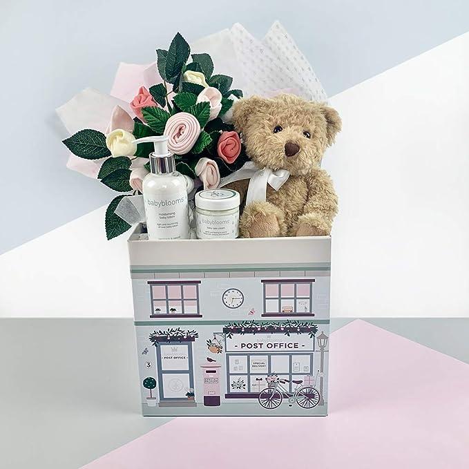 Babyblooms Bertie/'s New Baby Girl Gift Basket
