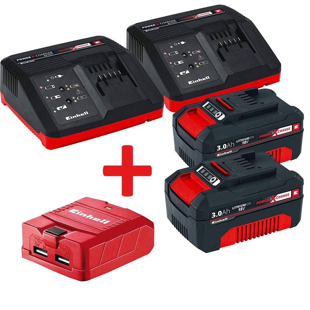 Einhell Power X Change Batería Kit Bricolemar Full Power (2 ...