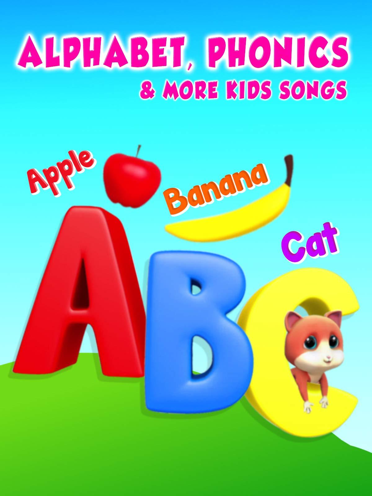 Alphabet, Phonics, & More Kids Songs on Amazon Prime Video UK