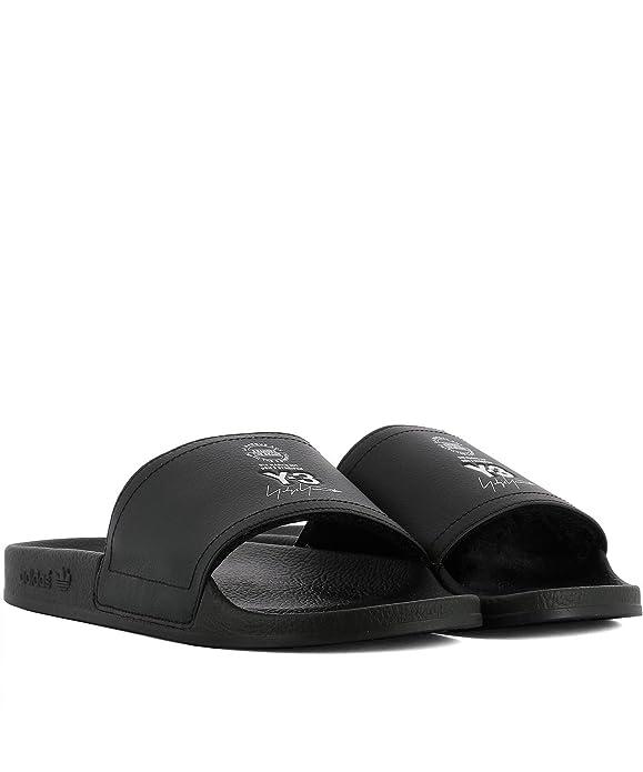 ADIDAS Y-3 YOHJI YAMAMOTO Herren AC7525 Schwarz Leder Sandalen: Amazon.de:  Schuhe & Handtaschen