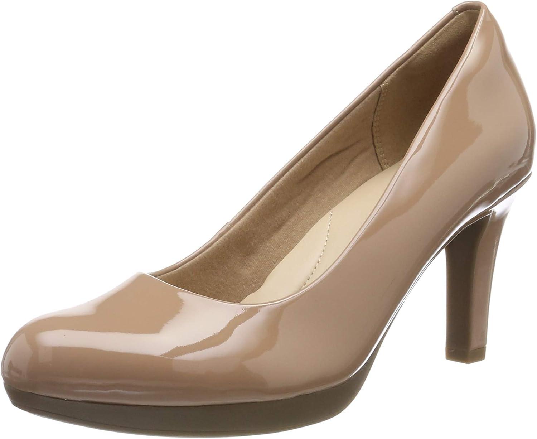 Clarks Adriel Viola, Zapatos de Tacón Mujer