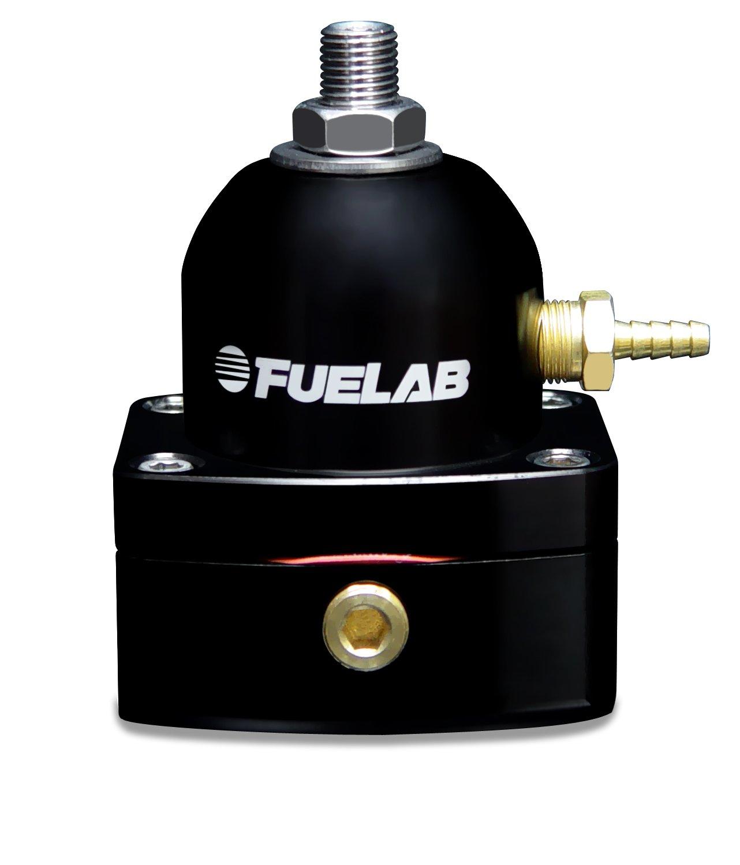 Fuelab 52501-1 Universal Black In-Line EFI Adjustable Fuel Pressure Regulator by Fuelab