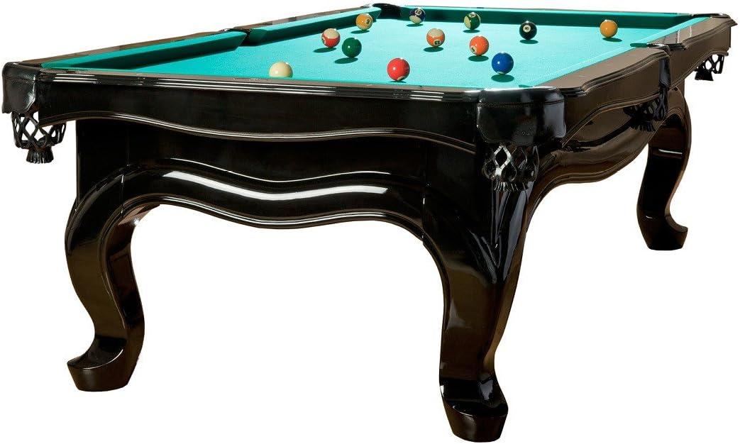 Billiard-Royal Modelo Piano 8 pies Mesa de Billar, Tuchfarbe grün: Amazon.es: Deportes y aire libre