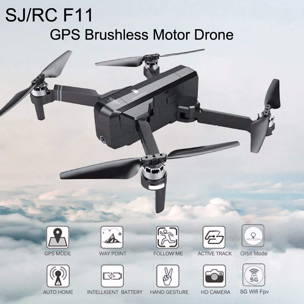 DOGZI Drone - SJR/C F11 GPS 5G WiFi FPV 1080P HD CAM Foldable ...