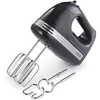 Usha 3732 300-Watt Hand Mixer with 2 Hooks (Black)