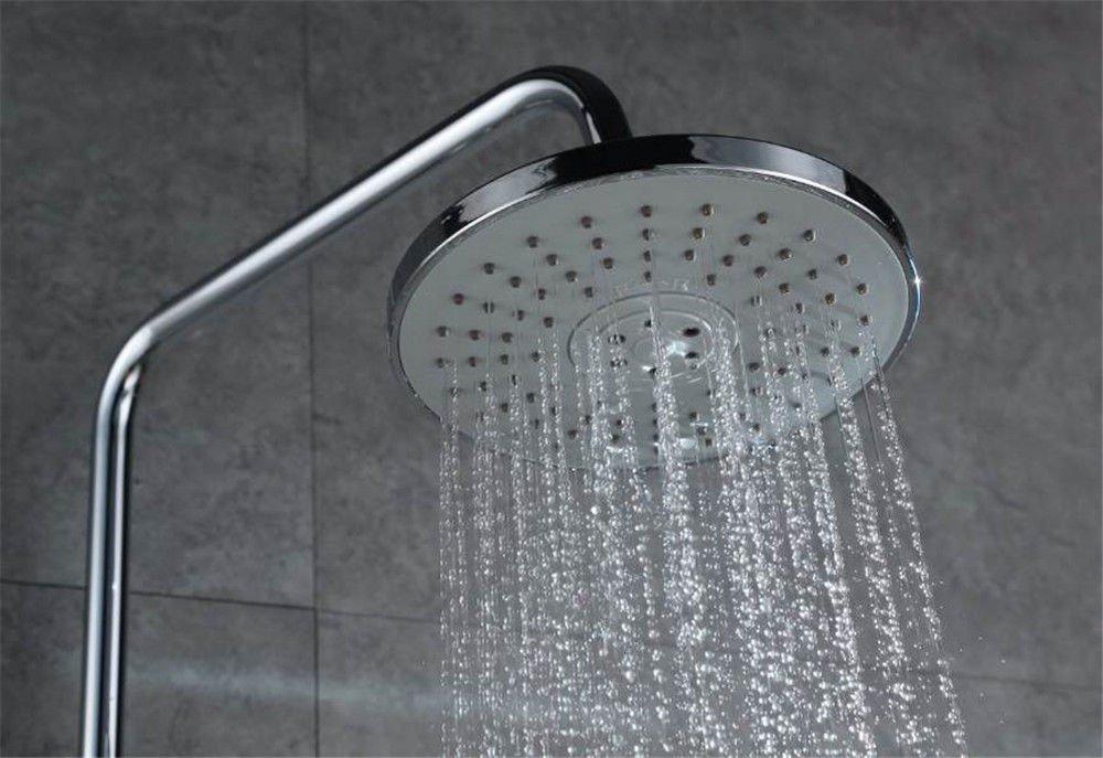 Hlluya Wasserhahn für Waschbecken Küche Kaltes Wasser der Dusche, Dusche, Dusche, warmes und Kaltes voll Kupfer eingerichtet Dusche Dusche 23009 showr a18aae