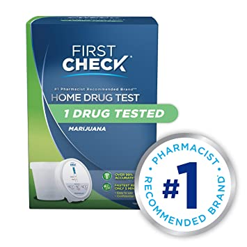 At Home Drug Test >> First Check At Home Drug Test Cup Kit Marijuana Thc 1 Count