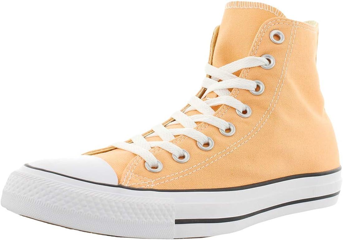Converse Mens Chuck Taylor All Star Hi Top Fashion Sneaker Shoe, Sunset Glow, 8