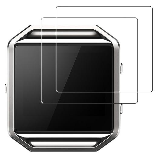 24 opinioni per Pellicola protettiva Fitbit Blaze, JETech Pacco da 2 protezione schermo in vetro