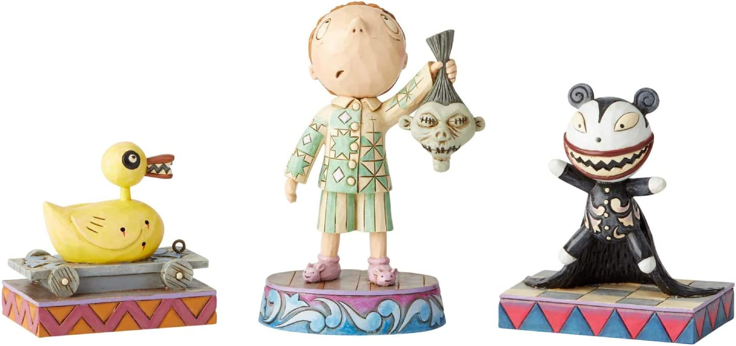 Enesco Department 56 - Nightmare Before Christmas - Ghastly Gifts, 3.5-Inch 3-Piece Set
