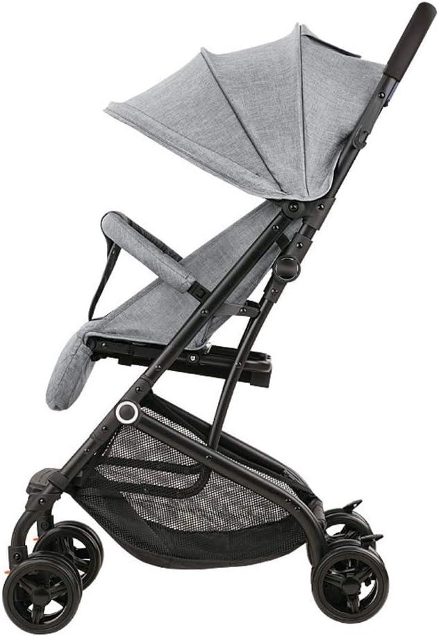 WJY Carro, Comedor Coche Carro médico Cena Cochecito de bebé Cochecito de bebé Mini ultra pequeño Puede sentarse Mentira Cochecito de bebé El amortiguador de niños puede estar en el avión Carro de be