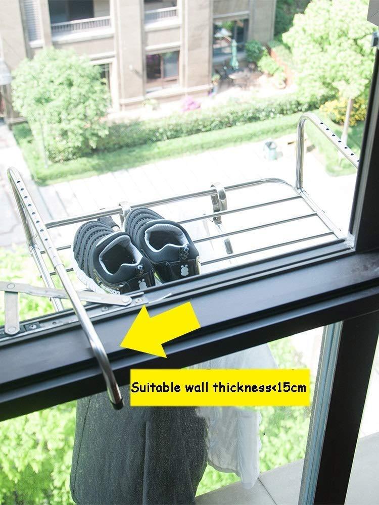 Radiateur Séchoir Vêtements Séchage Rack 3 M suspendu l/'espace de rangement intérieur//extérieur