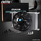#3: 25 Row AN-10 AN Universal Engine Transmission Oil Cooler + 7