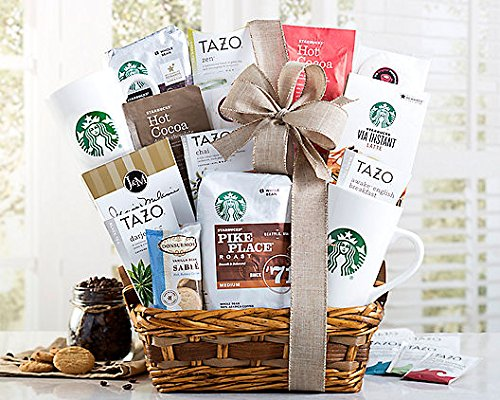 Starbucks Spectacular Gift Basket Coffee Baskets by Wine Country Gift Baskets