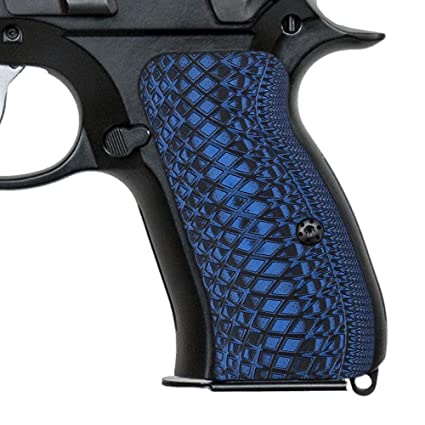 Cool Hand G10 Grips for CZ 75 Compact, Screws Included, Snake Scale Texture