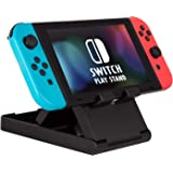 Switch Stand, ADZ Adjustable Playstand Compatibe with Nintendo Switch Console, Portable Compact Play Stand Mount with 3…
