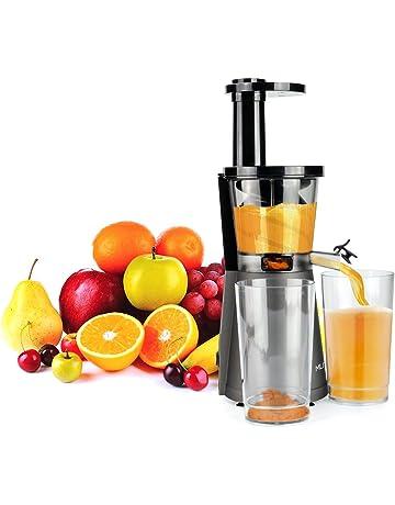 MLITER Licuadora Prensado en Frío, Slow Juicer, Licuadora Verdura y Frutas, Extractor Exprimidor