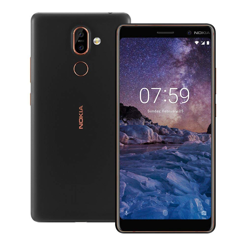 Nokia 7 Plus TA-1046 Dual Sim 64GB/4GB (Black)