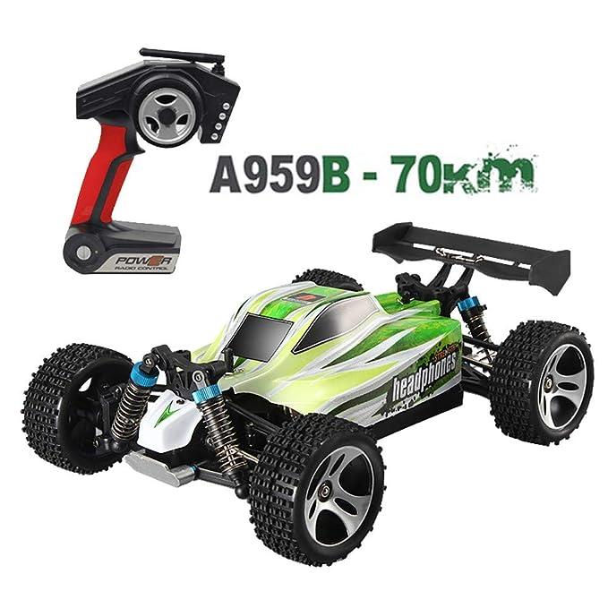 BaZhaHei Regalo Juguetes niños bebé Gift Familia wltoys actualizado 540 Motor escobilla Alta Velocidad 70 km