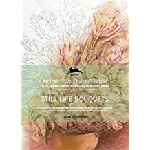 Still Life Bouquets Artists' Colouring Book
