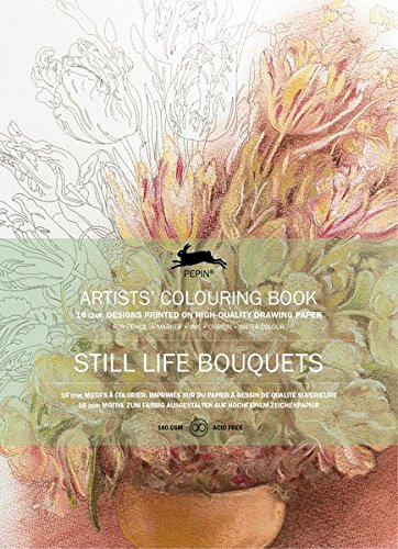 Still Life Bouquets : ARTISTS´COLOURING BOOK