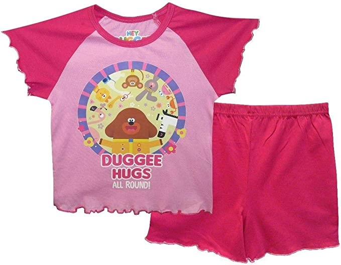 Hey Duggee Boys Pyjamas Short Summer Pyjamas Pjs Ages 12 Months to 4 Years Old