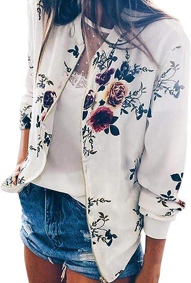 Veste Courte Femme Chic Blouson Bomber Mode Manteau Mince